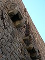Fozzano - A Torra Vechja dite Tour de Colomba, machicoulis.jpg