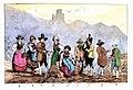 Frédéric Bourgeois de Mercey, Costumes tyroliens, Le Tyrol et le nord de l'Italie, Vol. 2,1833.jpg