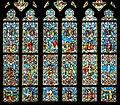 Fr Josselin Basilique chancel stained glass window detail.jpg