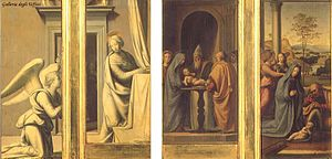 The Annunciation and Circumcision and Nativity of Christ