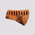 Fragment of a terracotta krater or dinos (bowl for mixing wine and water) MET DP115807.jpg