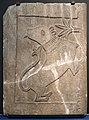 Frammenti di plutei di epoca longobarda, ix-x secolo, leone rampante.jpg