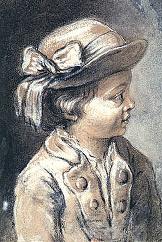 Museo Nacional de San Carlos - Image: François Boucher Retrato de uma criança com chapéu