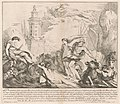 François Hutin, The Seconda Macchina for the Chinea of 1741 - Neptune and Amphitrite, 1741, NGA 208134.jpg