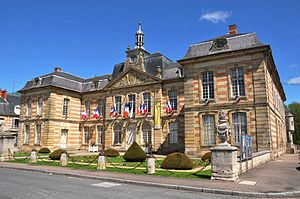 Sainte-Menehould - The town hall
