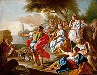 Francesco de Mura 1740c Le départ d'Énée.jpg