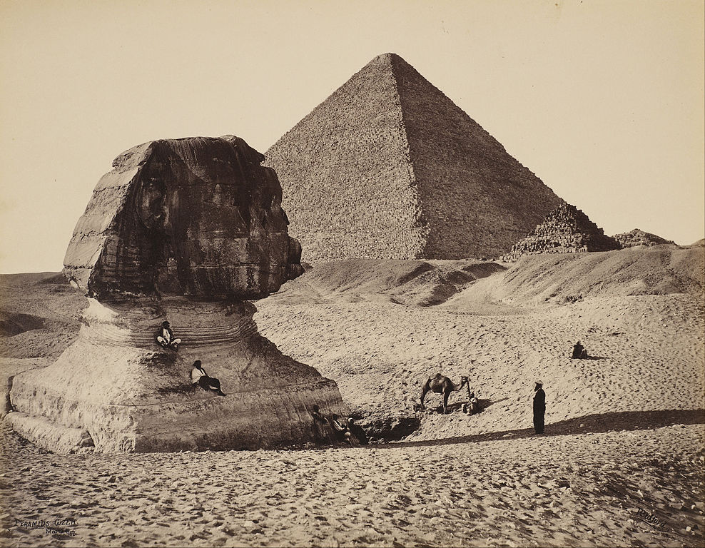 File Francis Bedford The Sphinx The Great Pyramid And