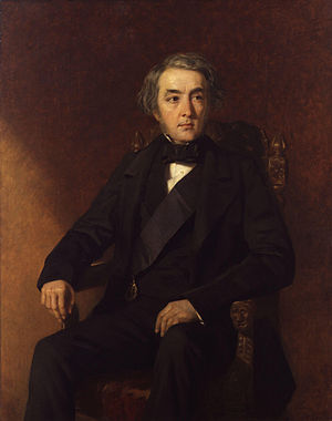 Francis Egerton, 1st Earl of Ellesmere - Portrait of the Earl of Ellesmere  by Edwin Longsden Long