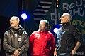 Francis Joyon, Lionel Lemonchois, Loick Peyron Route du Rhum 2014 2.jpg