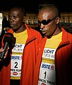 Francis Thuo Karanja (1), James Kuria Karanja (2), Vienna Night Run 2009.jpg