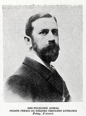 Francisco Acebal - Francisco Acebal in Blanco y Negro (1901)