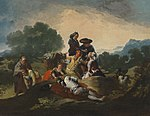 Francisco José de Goya y Lucientes - Die Landpartie - HUW 23 - Bavarian State Painting Collections.jpg