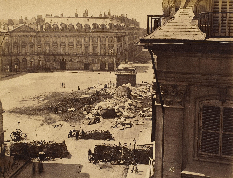 Colonne Vendôme, France,1871