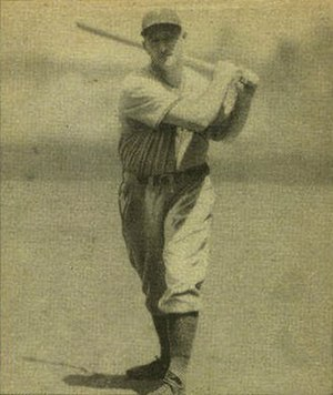 Frank Demaree - Image: Frank Demaree 1940 Play Ball card