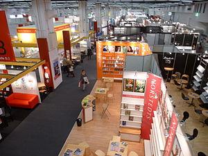 Norstedts förlag - Norstedts Förlag's booth at the Frankfurt Book Fair, 2012