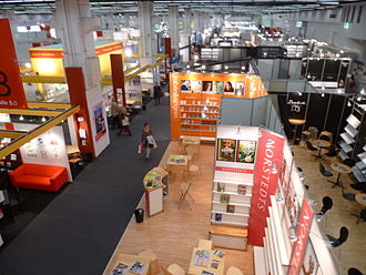 Norstedts förlag - Norstedts Förlag's booth at the Frankfurt Book Fair, 2012