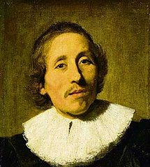 Portrait of a man with dark blonde hair