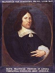 Portret van Frans van Schooten Jr. (1615-1660)