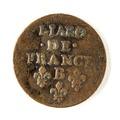 Franskt mynt från 1657 - Skoklosters slott - 109459.tif