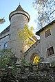Frauenstein Schloss Torbogen und Turm 15102006 782.jpg