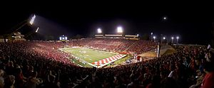 Bulldog Stadium - Image: Fresno State Jim Sweeny Field ( Bulldog Stadium)