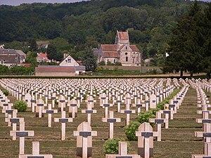 Nivelle Offensive - Image: Friedhof Soupir