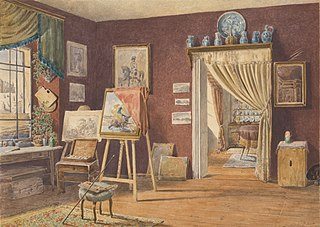 View of the Artist's Atelier