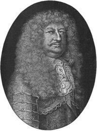 Frederick William, Elector of Brandenburg.