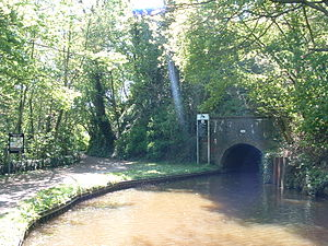 Caldon Canal - East portal of Froghall Tunnel