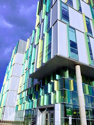 Algonquin College - Opened in 2011, the ACCE building was designed by Edward J. Cuhaci and Associates Architects