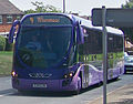Ftr bus in York Road, Seacroft, Leeds, 19020 (YJ07 LVM), 11 June 2010 cropped.jpg