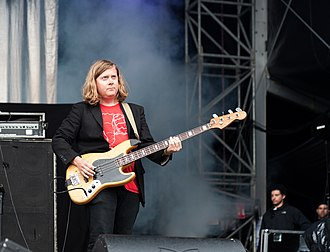 Future Islands - Bassist William Cashion at the Kosmonaut Festival (2015)