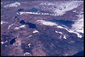 Turkish Lakes Region - Image of the Turkish Lakes Region from the International Space Station