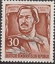 GDR-stamp Engels 30 1955 Mi. 489A.JPG