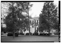 GENERAL VIEW, FROM SOUTHEAST - Hancock Hall, Third Street (Highway 57), La Grange, Fayette County, TN HABS TENN,24-LAGRA,1-1.tif