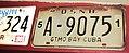 GTMO BAY CUBA U.S. Naval Basel license plate 45 Tchoup.jpg