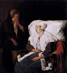 The Sick Lady and the Weeping Maidservant