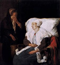 Gabriël Metsu: The Sick Lady and the Weeping Maidservant