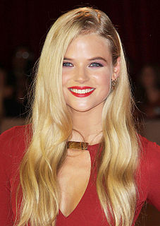 Gabriella Wilde English model and actress
