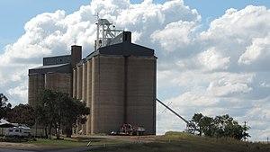 Wandoan - Grain silos in 2014