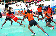 sport in  kabaddi is one of the most popular sports in
