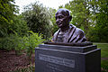 Gandhi bust Culemannstrasse Mitte Hannover Germany 01.jpg