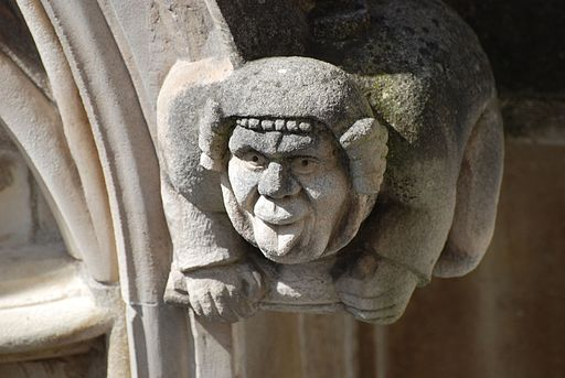 Gargoyle Sticking Out Tongue