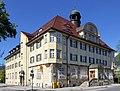 Garmisch-Partenkirchen, Postamt von Süden, 2.jpeg
