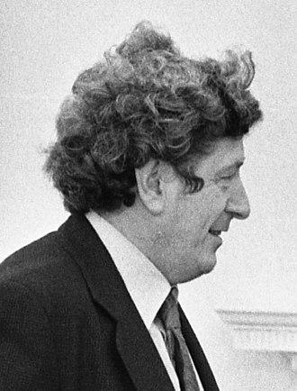 1981 Irish general election - Image: Garret Fitz Gerald Oval Office Patricks Day 1976