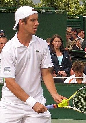 Richard Gasquet - Gasquet at Wimbledon in 2007