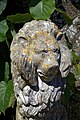 Gate lion sculpture at the Walled Garden of Parham House, West Sussex, England 01.jpg
