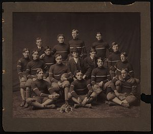 1909 Georgia Tech Yellow Jackets football team - Image: Gatech 09