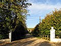 Gates and Byway to East Shefford House - geograph.org.uk - 73705.jpg
