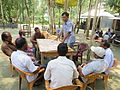 Gathering in a meeting of villagers in an Bangladeshi village 2015 34.jpg